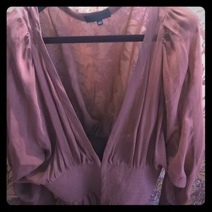 NWOT!. ❤️❤️Silk blouse!! Made in Italy!